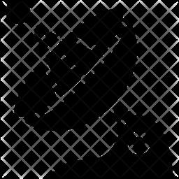 Satellite Signal Glyph Icon