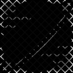 Saturn Glyph Icon