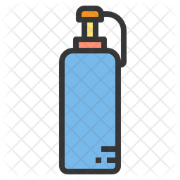 Sauce Colored Outline Icon