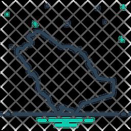Saudi Line Icon