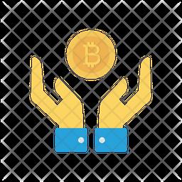 Save Bitcoin Icon