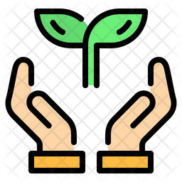 Save Ecology Colored Outline Icon