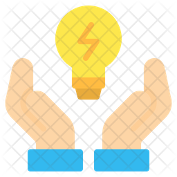 Save Energy Flat Icon