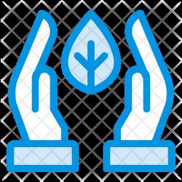 Save leaf Icon