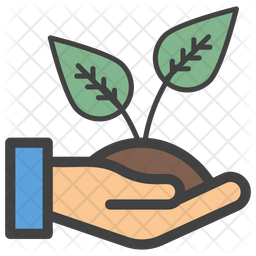 Save Plant Flat  Emoji Icon