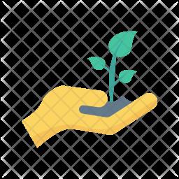 Save plant Flat Icon