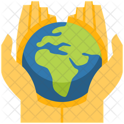 Save The Earth Flat Icon
