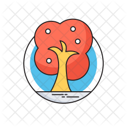 Save The Trees Flat Icon