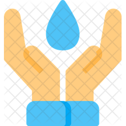Save water Flat Icon
