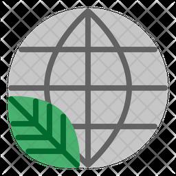 Save World Flat Icon