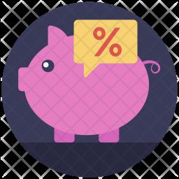 Saving Ratio Icon