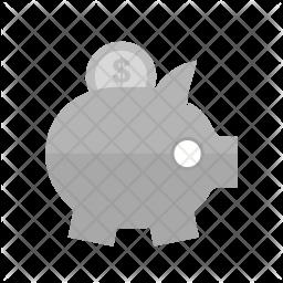 Savings Flat Icon