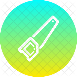 Saw Line Icon