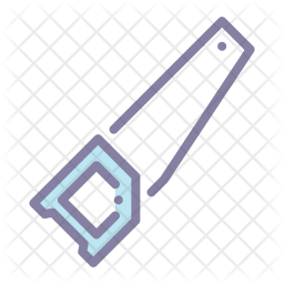 Saw Colored Outline Icon