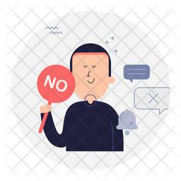 Say no Icon