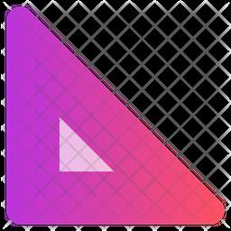 Scale Gradient Icon