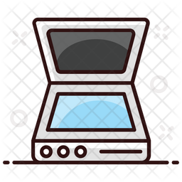 Scanner Colored Outline Icon