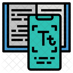 Scanning Application Colored Outline Icon