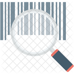 Scanning Bar code Icon