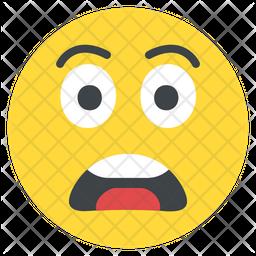 Scared Emoji Icon