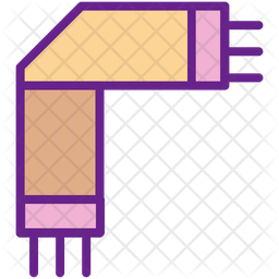 Scarf Colored Outline Icon
