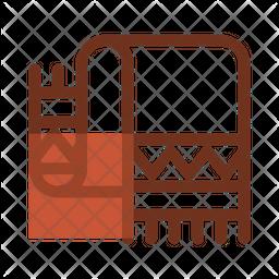 Scarf Dualtone Icon