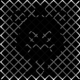 Scary Glyph  Emoji Icon