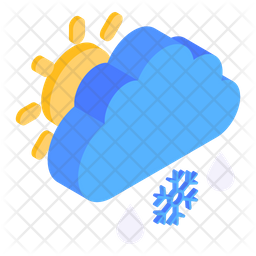 Scattered Snow Icon