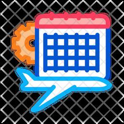 Schedule plan maintenance Icon