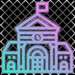 School Gradient Icon