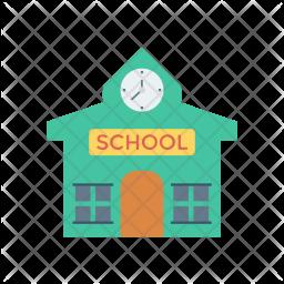 School Flat Icon