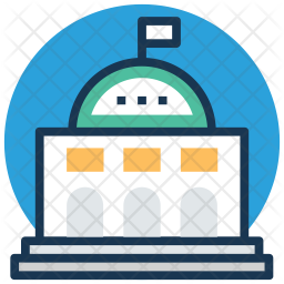 School Colored Outline Icon