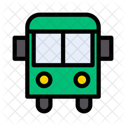 School Bus Icon Of Colored Outline Style Available In Svg Png Eps Ai Icon Fonts