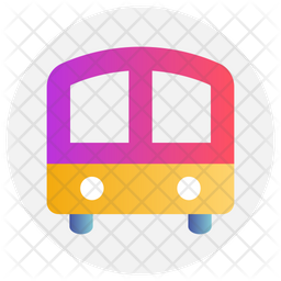 School Bus Icon Of Gradient Style Available In Svg Png Eps Ai Icon Fonts