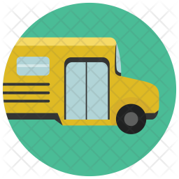 School Bus Icon Of Flat Style Available In Svg Png Eps Ai Icon Fonts
