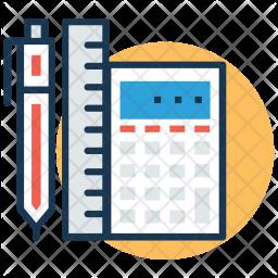 School Stationery Icon
