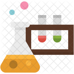 Science experiment Flat Icon