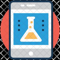 Scientific app Colored Outline Icon
