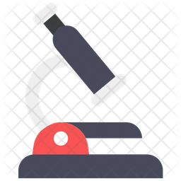 Scientific Microscope Icon