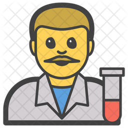 Scientist Emoji Icon
