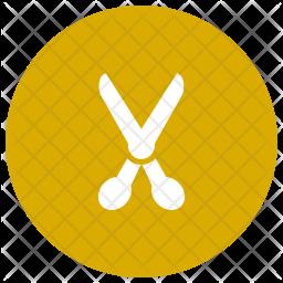 Scissor Glyph Icon