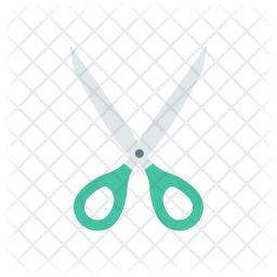 Scissor Flat Icon