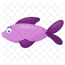 Scissor Tail FIsh Icon png