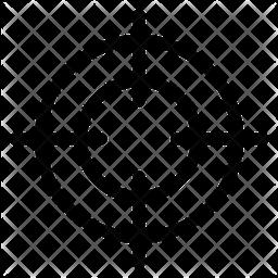 Scope Line Icon