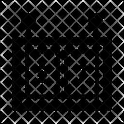 Scoreboard Glyph Icon