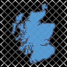Scotland Map Icon