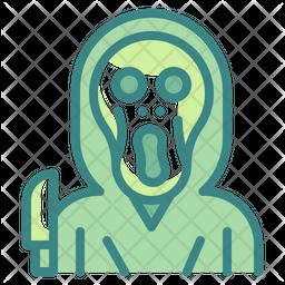 Scream Dualtone Icon