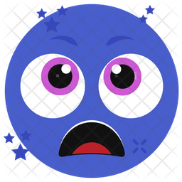 Screaming Face Emoji Icon
