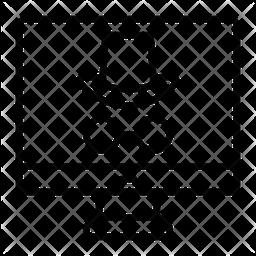 Screen Hacket Line Icon
