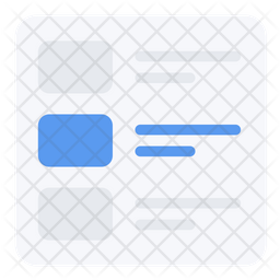 Screen Layout Icon